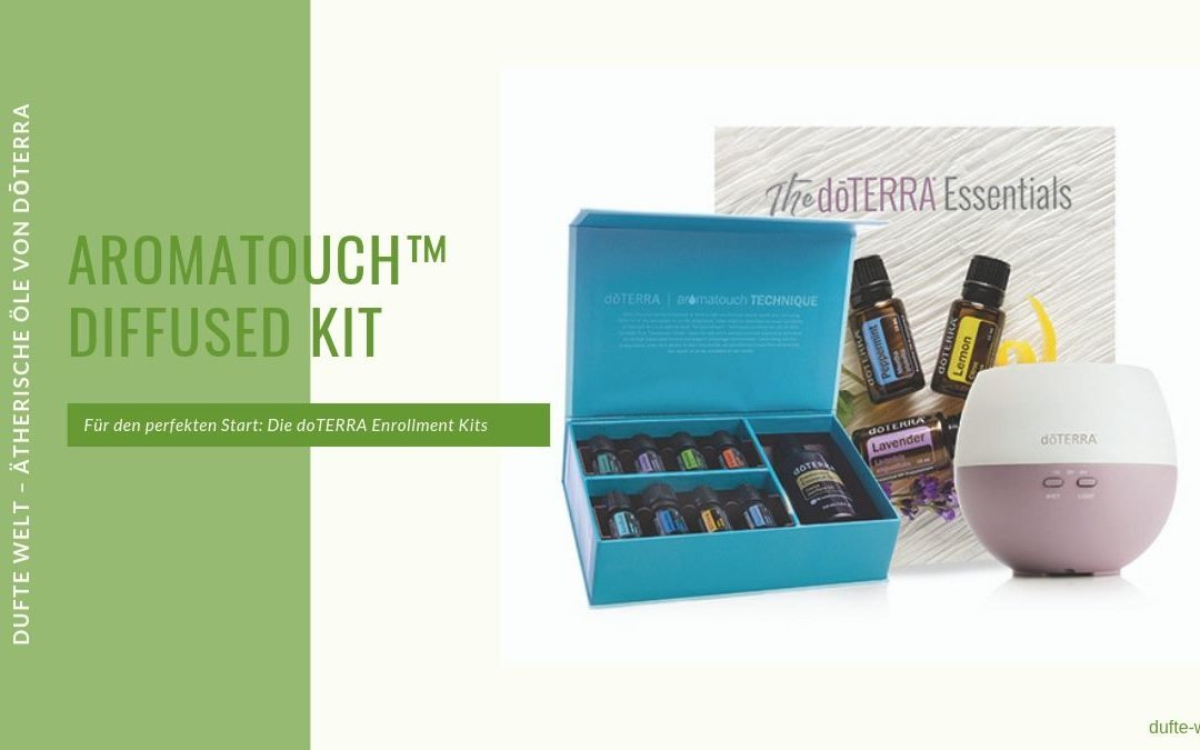 doTERRA Enrollment Kit: Aromatouch Diffused Set