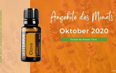 Angebote den Monats Oktober 2020 von doTERRA und Dufte Welt