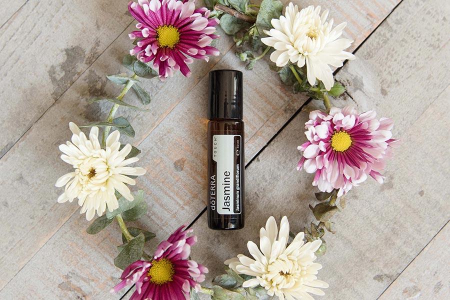 ätherisches Jasmine Öl gebrauchsfertig gemischt als Touch Roll on