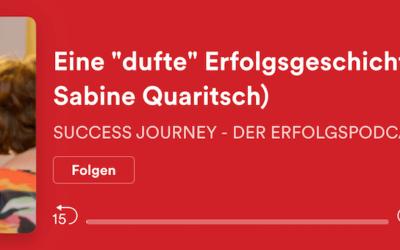 """Sabine zu Gast im """"SUCCESS JOURNEY – DER ERFOLGSPODCAST"""" von Claudia Hupprich"""
