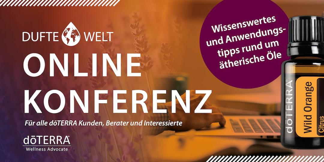 Dufte Welt Online Konferenzen 2021