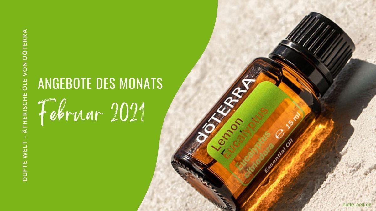 doterra Angbeot Februar 2021: gratis Öl Lemon Eucalyptus