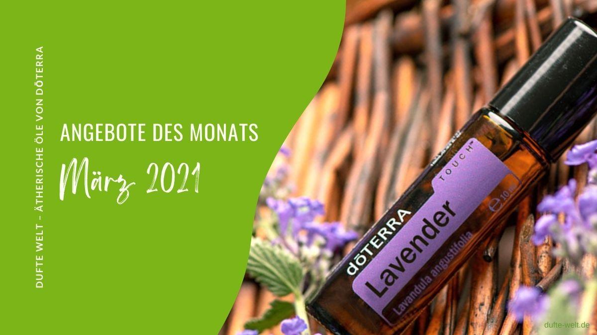 doterra Angbeot März 2021: gratis Öl Lavendel Touch