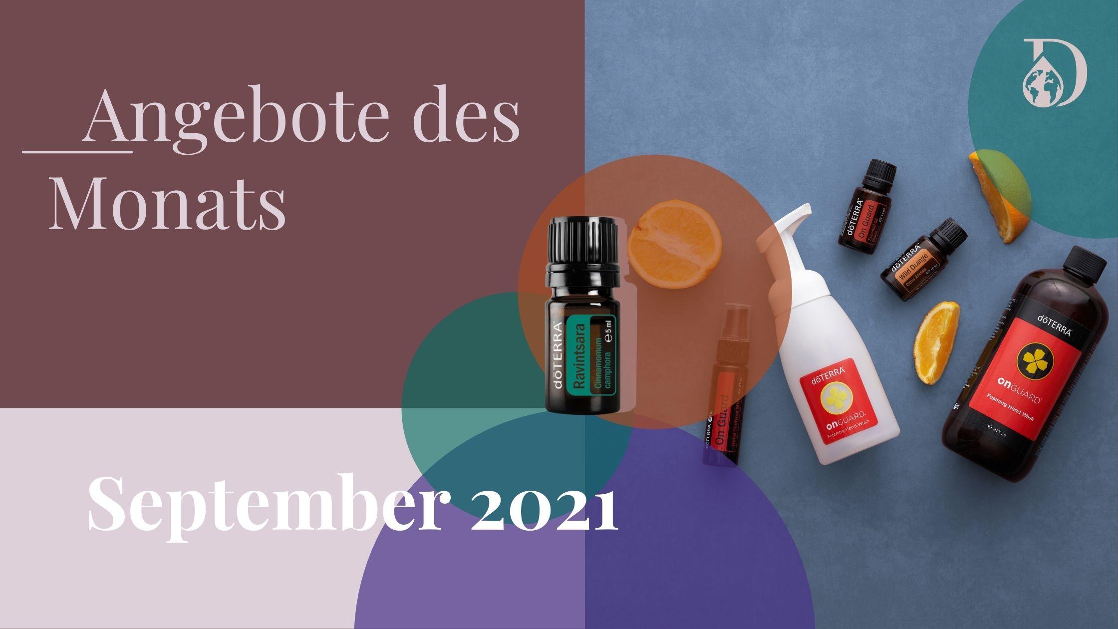 Angebote, News,Events im September 2021